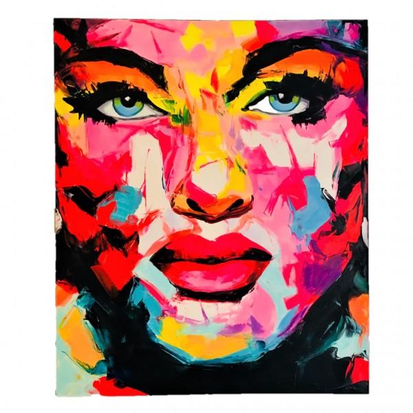 Pop Art Painting abstrakt 120x100