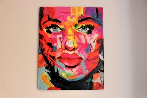 Pop Art Painting abstrakt 90x70