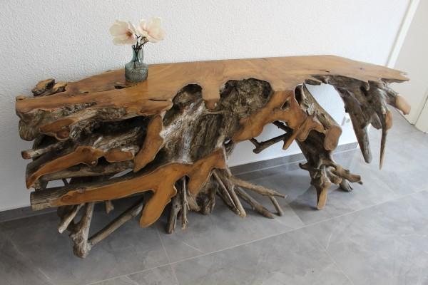 Wurzelkommode, Sideboard 200 cm