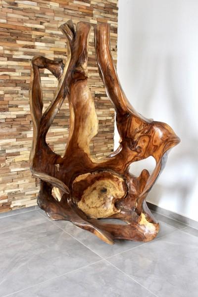 XXL Holz Skulptur Suar 165x100 cm